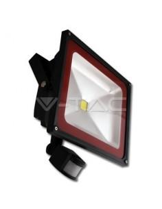 LedOne 50W Proiector LED Sensor PREMIUM Bridgelux- Alb Cald 3000K Megazin Online Pret Ieftin