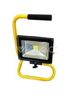 LedOne 20W Proiector STAND LED V-TAC Clasic Alb Rece 6000K Megazin Online Pret Ieftin