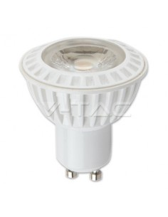 LedOne 6W Spot LED - GU10 Plastic Premium 3000K Megazin Online Pret Ieftin