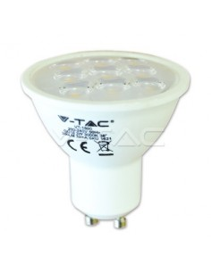 LedOne 3W Spot LED GU10 Plastic 6000K Megazin Online Pret Ieftin