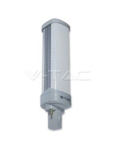 LedOne 10W Bec LED - G24 PL Alb Rece 6000K Megazin Online Pret Ieftin
