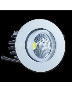 LedOne 3W Spot LED Downlight COB Rotund - Alb Cald 3000K Megazin Online Pret Ieftin