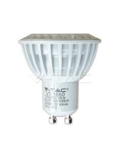LedOne 6W Spot LED GU10 Plastic 4500K Megazin Online Pret Ieftin