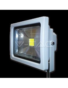 LedOne 20W Proiector LED V-TAC Classic Reflector - Alb Cald 3000K Megazin Online Pret Ieftin