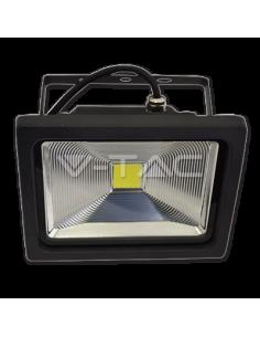 LedOne 50W Proiector LED V-TAC PREMIUM - Graphite Alb Rece 6000K Megazin Online Pret Ieftin