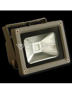 LedOne 10W Proiector LED V-TAC Clasic Rosu Megazin Online Pret Ieftin