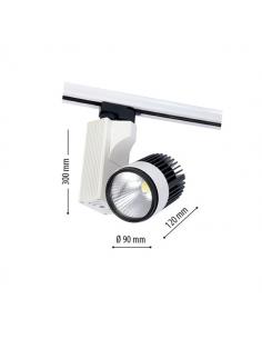 LedOne 20W Lampa LED Sina Metro COB 4500K Megazin Online Pret Ieftin