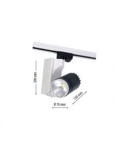LedOne 10W Lampa LED Sina Metro XL COB 4500K Megazin Online Pret Ieftin