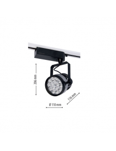 LedOne 30W Lampa LED Sina Metro NVC COB 4500K Megazin Online Pret Ieftin