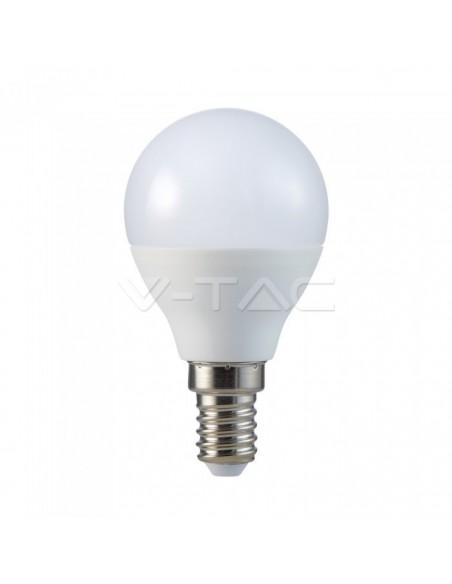 5.5W Bec LED E14 P45 6400K 6BUC / Pachet