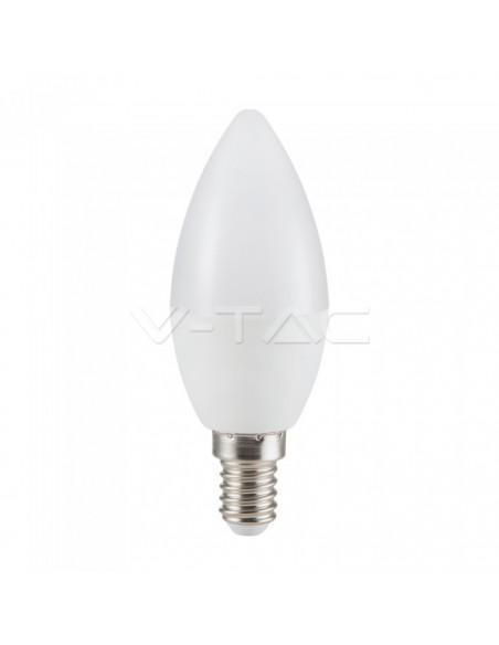 5.5W Bec LED E14 Lumanare 6 buc / PACK 2700K