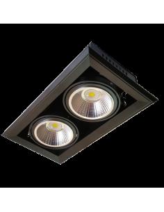 LedOne Spot LED AR111 2x23W + Suport 5000K Megazin Online Pret Ieftin