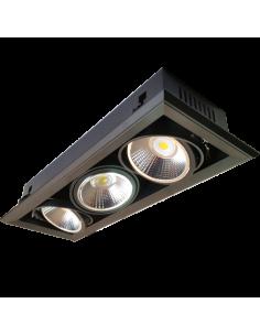LedOne Spot LED AR111 3x23W + Suport 5000K Megazin Online Pret Ieftin