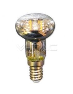 LedOne 2W Bec LED Filament E14 V-TAC R39 Alb Cald 2700K Megazin Online Pret Ieftin