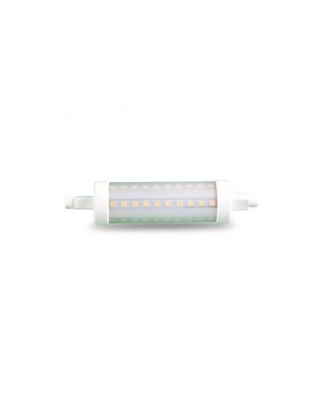 7W Bec LED - R7S 118mm Plastic 2700K