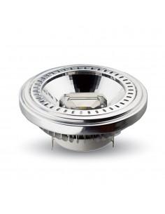 LedOne 15W Spot LED - AR111 12V Unghi 20 COB Chip 6000K Megazin Online Pret Ieftin