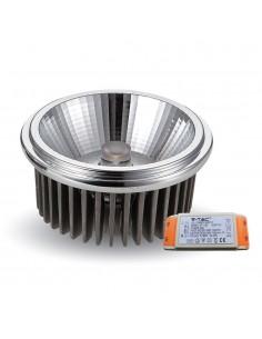 LedOne 20W Spot LED - AR111 230V Unghi 40 COB Chip 4500K Megazin Online Pret Ieftin