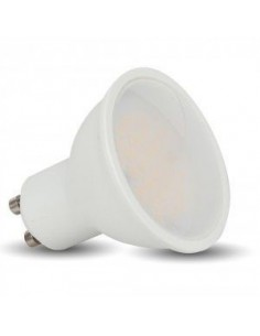 LedOne 7W Spot LED - GU10 Alb Plastic 6000K Variator  Megazin Online Pret Ieftin