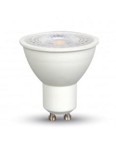 LedOne 7W Spot LED - GU10 Plastic cu Lentila 2700K 110° Megazin Online Pret Ieftin