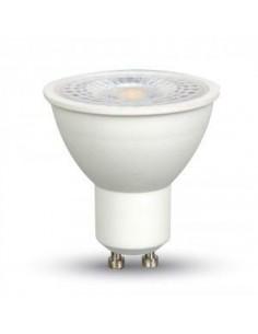 LedOne 7W Spot LED - GU10 Plastic cu Lentila 4500K 110° Megazin Online Pret Ieftin