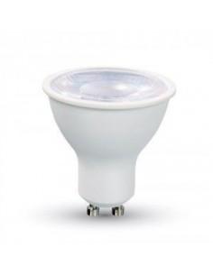 LedOne 8W Spot LED GU10 SMD Alb Plastic Lentila 38° 4500K Megazin Online Pret Ieftin