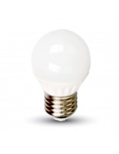 LedOne 4W Bec LED E27 G45 6000K Megazin Online Pret Ieftin