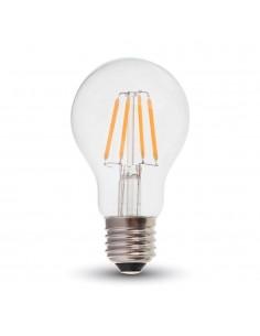 LedOne 4W Bec LED Filament E27 A60 2700K  Megazin Online Pret Ieftin