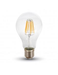 LedOne 8W Bec LED Filament E27 A67 6000K Megazin Online Pret Ieftin