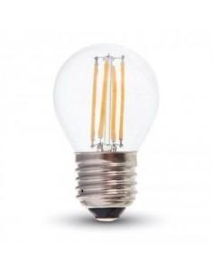 LedOne 4W Bec LED Filament E27 G45 4500K Megazin Online Pret Ieftin