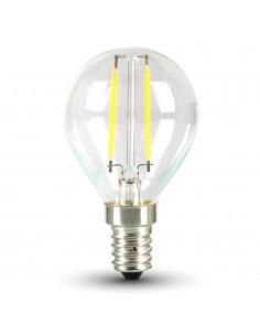 LedOne 2W Bec LED -Filament E14 P45 2700K Megazin Online Pret Ieftin