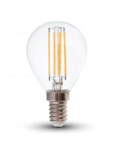 LedOne 4W Bec LED  Filament  E14 P45 6000K         Megazin Online Pret Ieftin