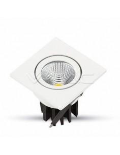LedOne 3W Spot LED Incastrabil COB Patrat Corp Alb 6000K Megazin Online Pret Ieftin