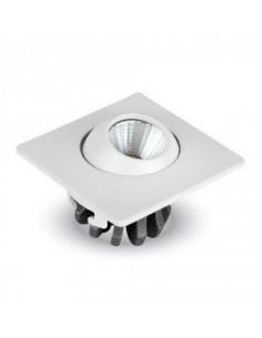 LedOne 3W Spot LED Incastrabil Ajustabil Patrat 6400K  Megazin Online Pret Ieftin