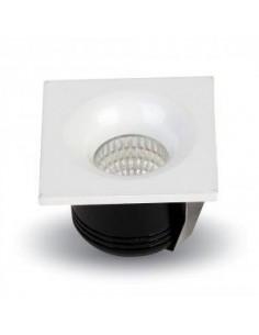 LedOne 3W Spot LED Incastrabil FixTip Patrat 2700K Megazin Online Pret Ieftin