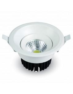 LedOne 8W Spot LED Incastrabil COB Rotunda - Corp Alb 6500K Megazin Online Pret Ieftin