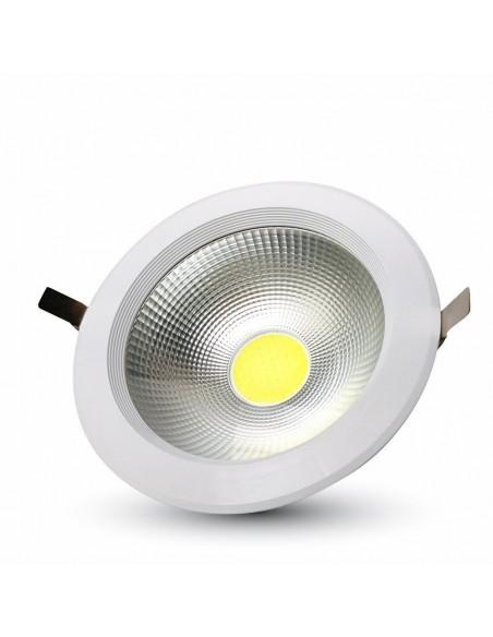 20W Spot LED COB Incastrabil Reflector Corp Alb - 6000K