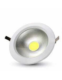 LedOne 20W Spot LED COB Incastrabil Rotund A++ 120Lm/W 4000K Megazin Online Pret Ieftin