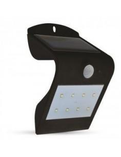 LedOne 1.5W Lampa LED Solar Perete Lumina 4000K+3000K Alb+Corp Negru Megazin Online Pret Ieftin