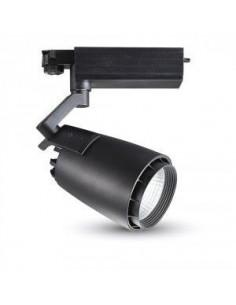 33W Lampa/Proiector/Spot LED Magazine Corp Negru 5000K