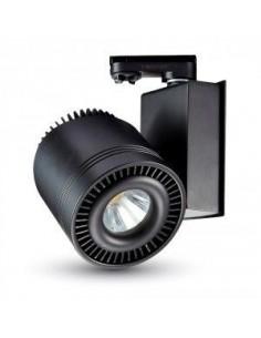 LedOne 33W Lampa LED Proiecteur Magazine  COB CRI95 Sina Corp Negru Lumina4000K  Megazin Online Pret Ieftin
