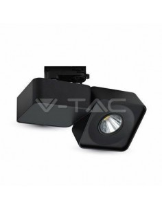 LedOne 23W Lampa/Proiector/Spot LED Magazine Corp Negru Patrat5000K Megazin Online Pret Ieftin