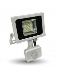 LedOne 10W Proiector LED SMD Detector Corp Alb 3000K Megazin Online Pret Ieftin