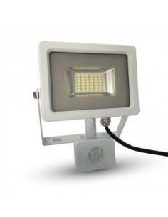 LedOne 20W Proiector LED SMD Detector Corp Alb 3000K Megazin Online Pret Ieftin