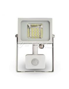 LedOne 20W Proiector LED SMD cu Detector Corp Alb 4500K Megazin Online Pret Ieftin
