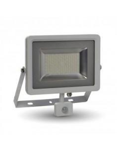 LedOne 50W Proiector LED SMD Detector Corp Alb 3000K Megazin Online Pret Ieftin