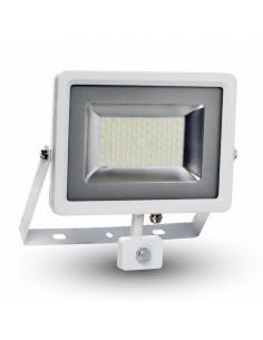 LedOne 50W Proiector LED SMD Detector Corp Alb 4500K Megazin Online Pret Ieftin