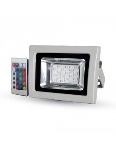 LedOne 10W Proiector LED SMD RGB cu IR Telecomanda Megazin Online Pret Ieftin