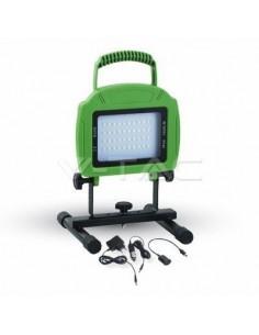 LedOne 20W Proiectoar LED Reincarcabil SMD Verde Corp 6000K Megazin Online Pret Ieftin