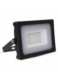 LedOne 20W Proiector LED Corp Negru SMD 6000K Megazin Online Pret Ieftin