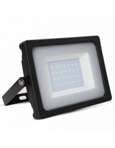 LedOne 30W Proiector LED Corp Negru SMD 4000K   Megazin Online Pret Ieftin